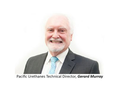 Pacific Urethanes Technical Director, Gerard Murray