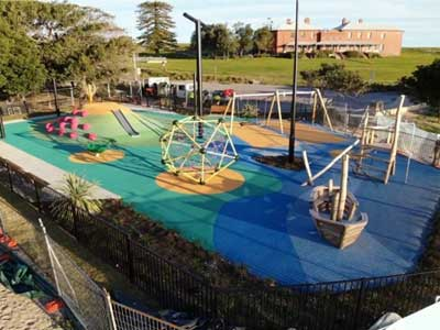 Frenchman's Bay Playground Project