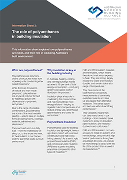 The role of polyurethanes in building insulation